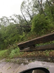 It appears a tornado touched down in Wilkinson County on Sunday, April 7, 2019, according to Wilkinson County's EMA director.