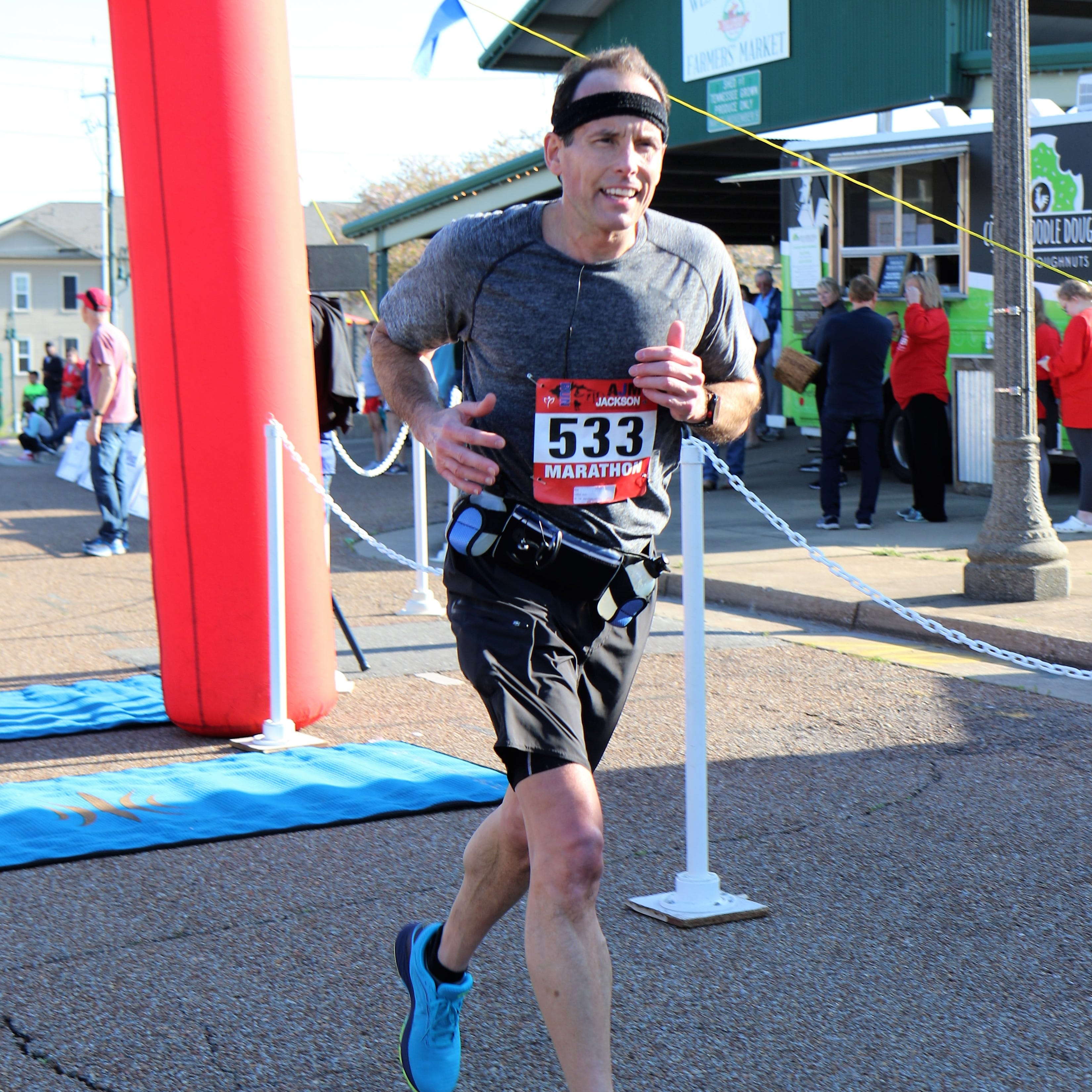 320 people run Andrew Jackson full, half-marathon