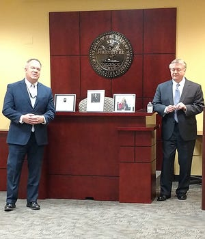 Allen Phillips and Marshall Davidson III discuss the 100-year history of workmen's compensation in Tennessee.