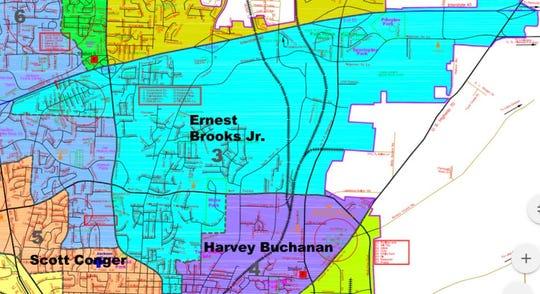 Jackson City Council district 3