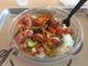 The spicy ahi at Pokeworks is made with ahi tuna, green and sweet onion, cucumber, masago, sesame seeds and sriracha aioli.