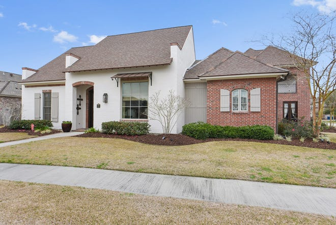 This4 bedroom, 3 1/2 bathhome is located at 100 Candlewood Drive in Lafayette. It is listed at $989,000.