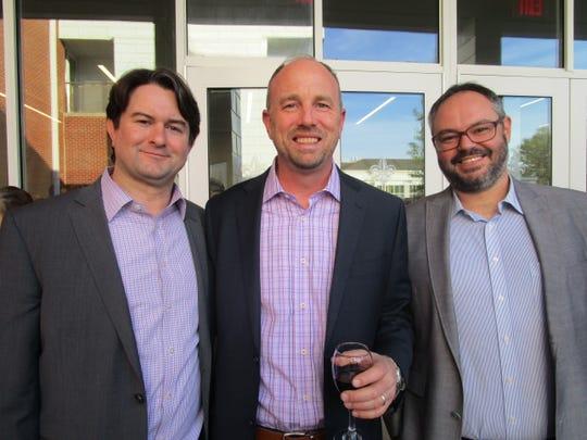 Bob Brahan, David Goodwyn and Gustavo Rosenstengel