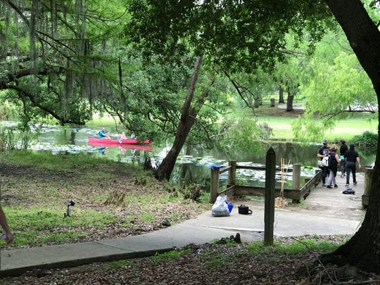 Check out free canoeing at Vermilionville Sunday as part of the Earth Day celebration.
