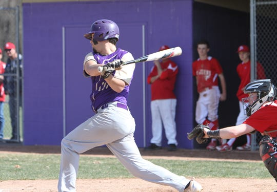 Fowlerville's JT Maybee was 7-for-11 in the Novi Invitational.