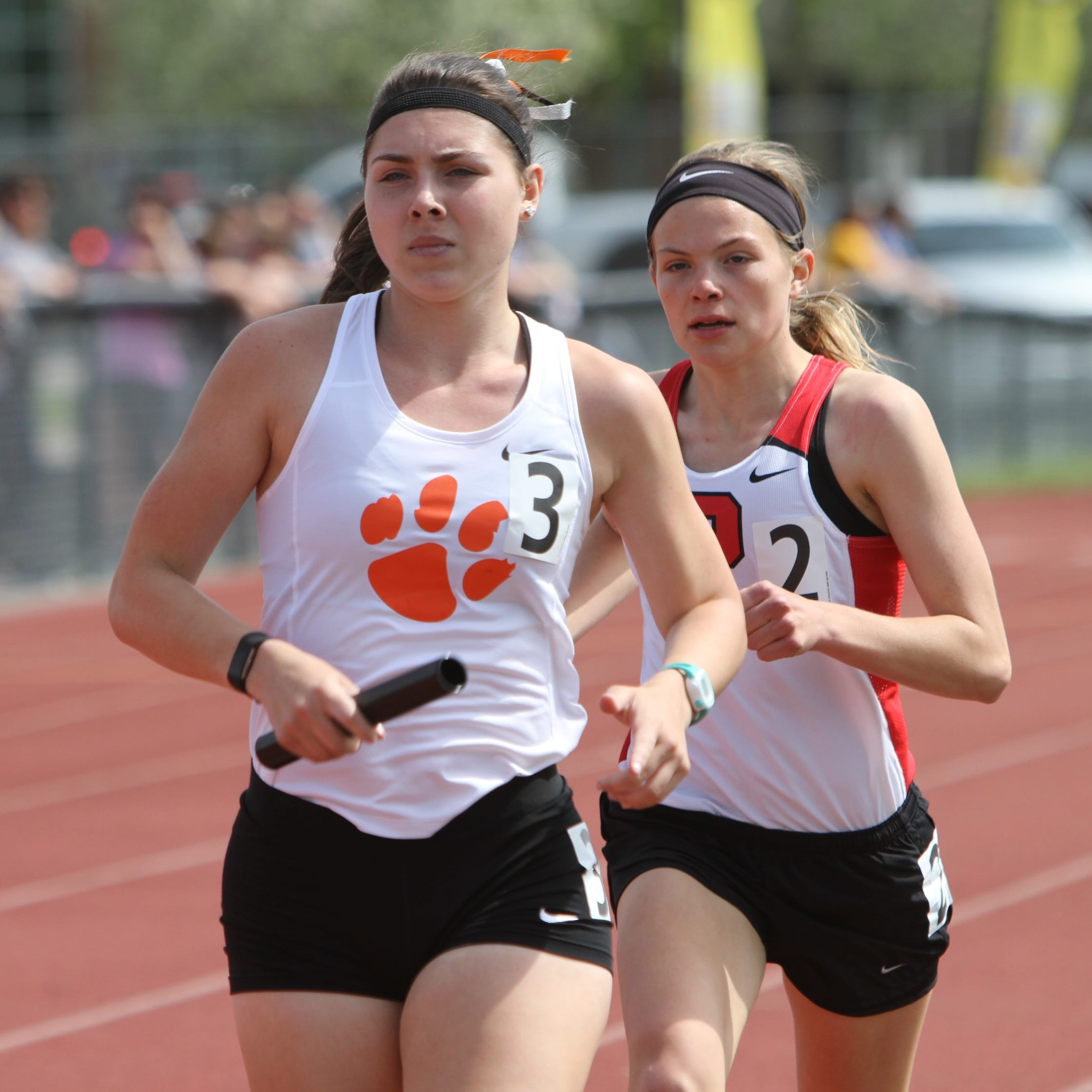 Top 10 girls track and field athletes in Livingston County