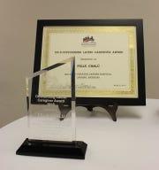Outstanding Hispanic/Latino Caregiver Award.