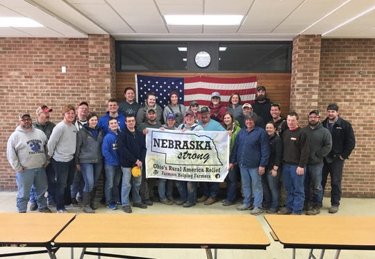 A team of 30 people from North Central Ohio recently traveled to Nebraska to help farmers clean up after this spring's flooding.