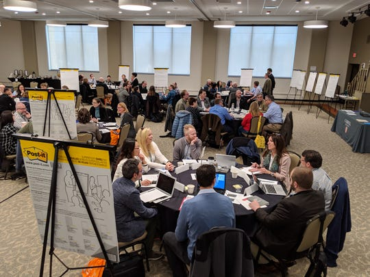 Educators from 12 liberal arts institutions gathered to discuss the future of digital literacy in the classroom as part of a $100,000 dollar grant from the National Science Foundation.