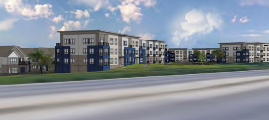 Hub13, a 300-unit upscale apartment development, is among two neighboring projects that have been endorsed by the Oak Creek Plan Commission.