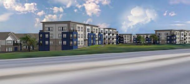 Hub13, a 300-unit apartment development, is proceeding in Oak Creek -- the latest in a series of developments near the new Ikea store.