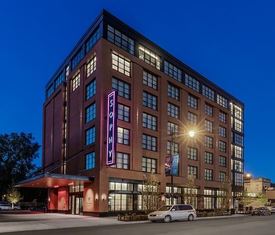 The Sophy Hotel opened in Chicago's Hyde Park neighborhood in 2018.
