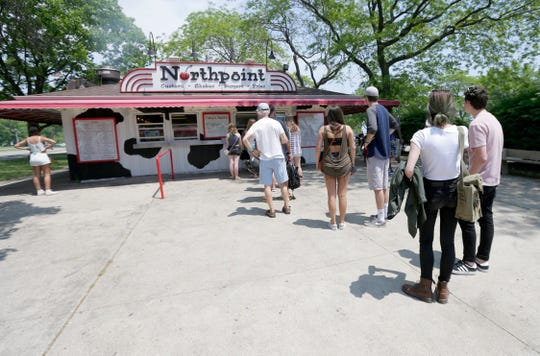 Bartolotta Restaurants opened Northpoint Custard on Lincoln Memorial Drive in 2009, in the former Northpoint Snack Bar south of Bradford Beach on the shore of Lake Michigan.
