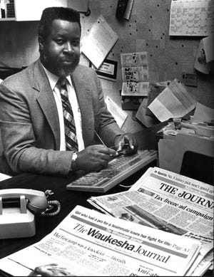 Gregory Stanford in 1994 at the Milwaukee Journal.