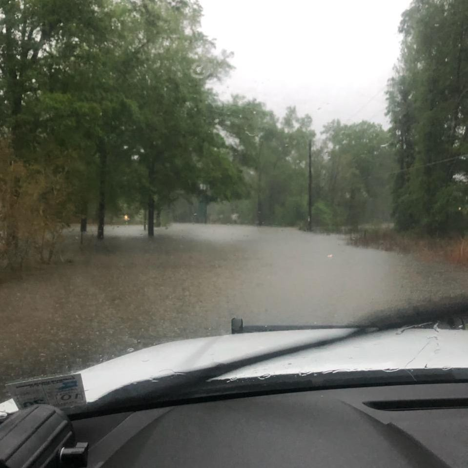 List: Roads in northeast Louisiana shut down due to flash flooding