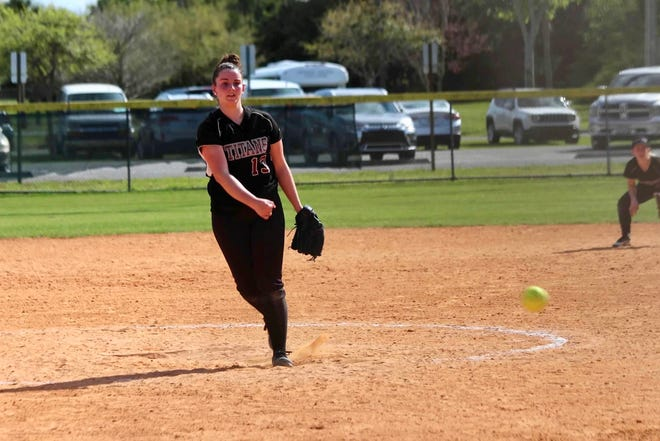 County College of Morris pitcher Kellie Faber, a Butler alumna, opened her sophomore season 10-0.