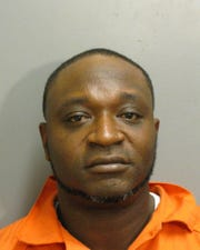 Marco McCoo was charged with domestic violence burglary.