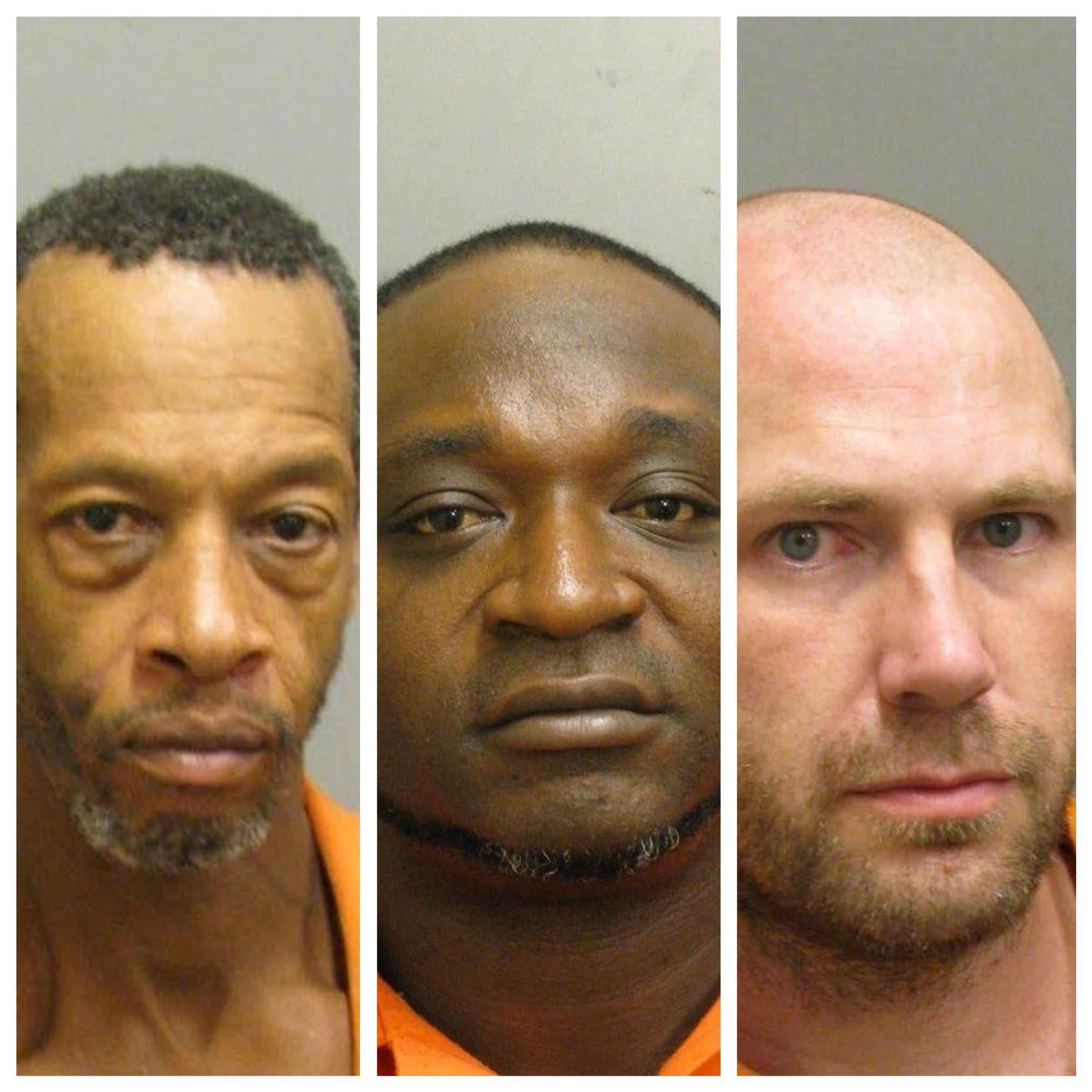 Three Montgomery men charged in separate, unrelated domestic violence cases