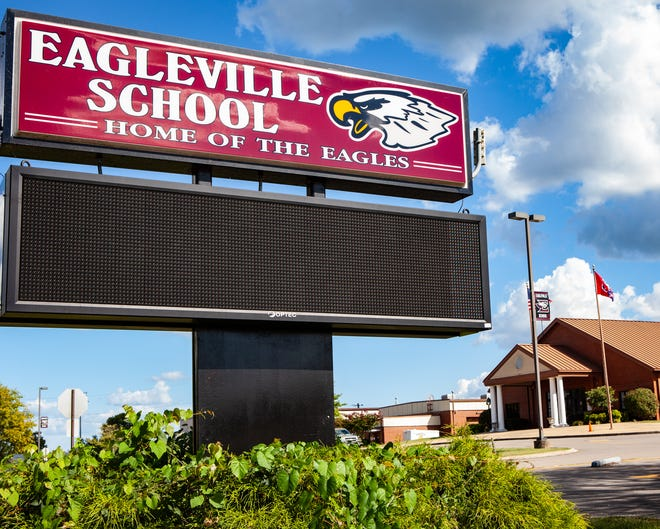 Eagleville School is located in southwest Rutherford County.