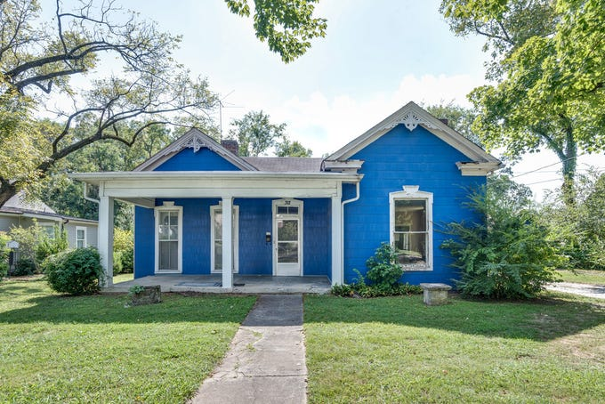 The home at 312 Third Ave. S. in historic downtown Franklin is the perfect renovation project for someone willing to restore a historic home. Plans for changes to the home's exterior will have to go before the city's Historic Zoning Commission.