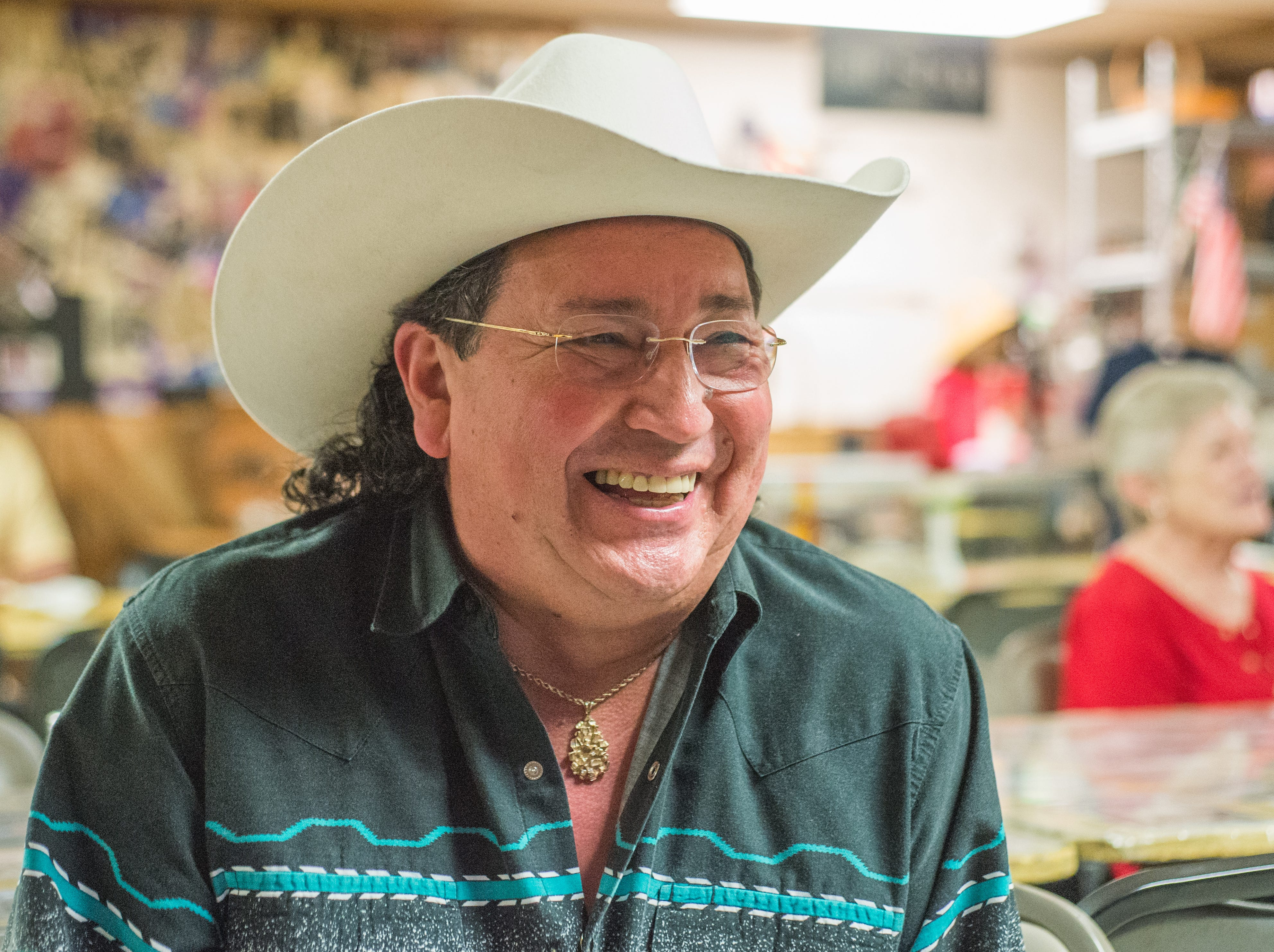 Sal Santiago has a great time at Long Hollow Jamboree in Goodlettsville on Saturday, April 7.