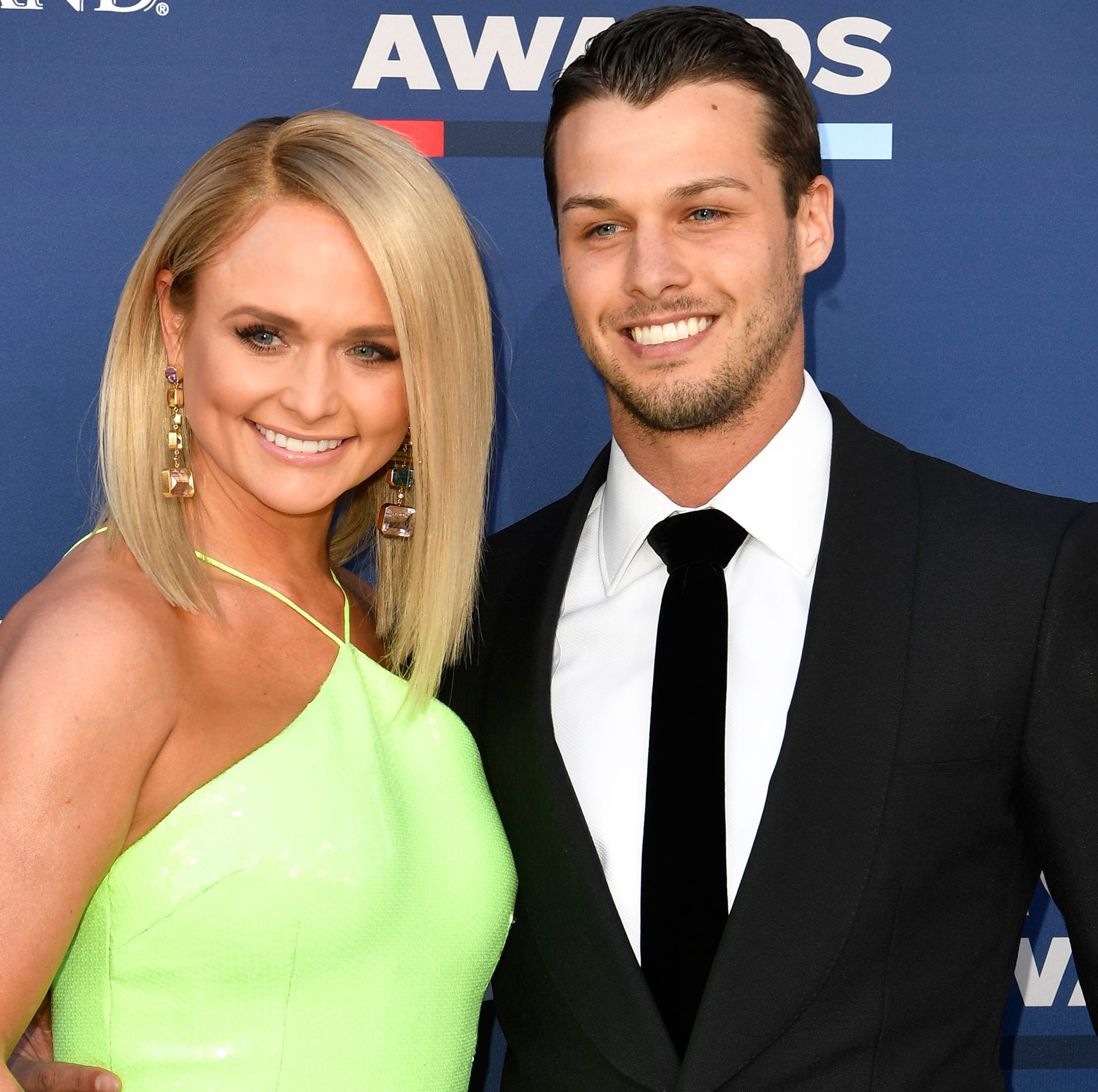 ACM Awards: Miranda Lambert walks red carpet with new husband Brendan Mcloughlin