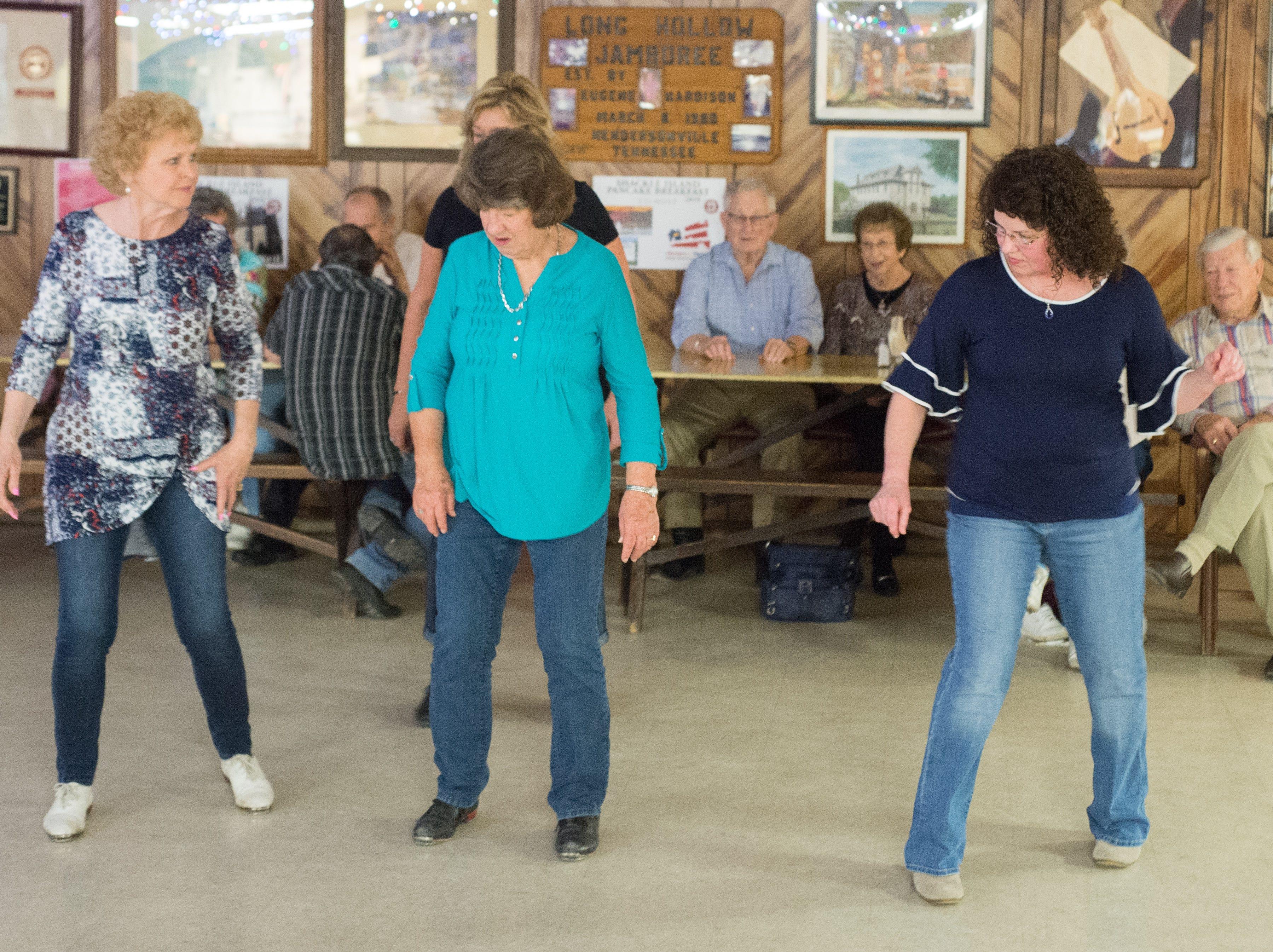 Attendees enjoy having fun at Long Hollow Jamboree in Goodlettsville on Saturday, April 7.