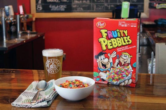 Yabba Dabba Brew, a Fruity Pebbles inspired beer from Homestead Brewery