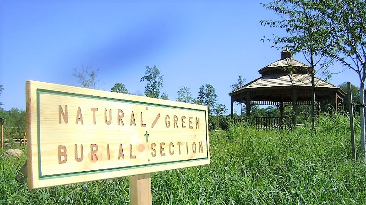 What is a green burial? Here's one final way to reduce your