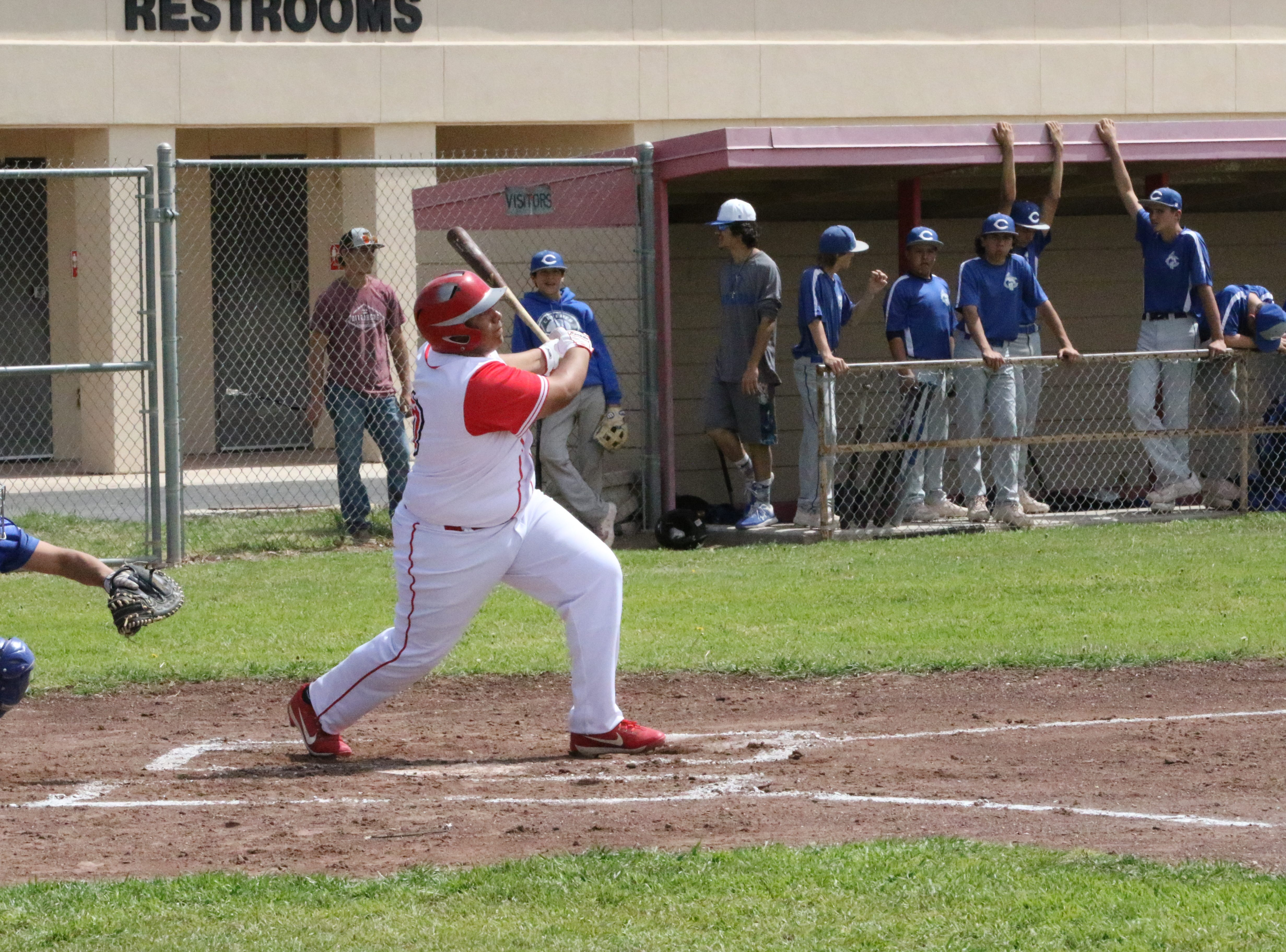 Highlights of the Loving doubleheader with Carlsbad's C team on April 6, 2019.