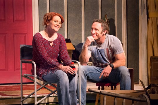 "Kay Capasso and Joel Bryant star in the Dezart Performs production of ""Maytag Virgin"" through Sunday."