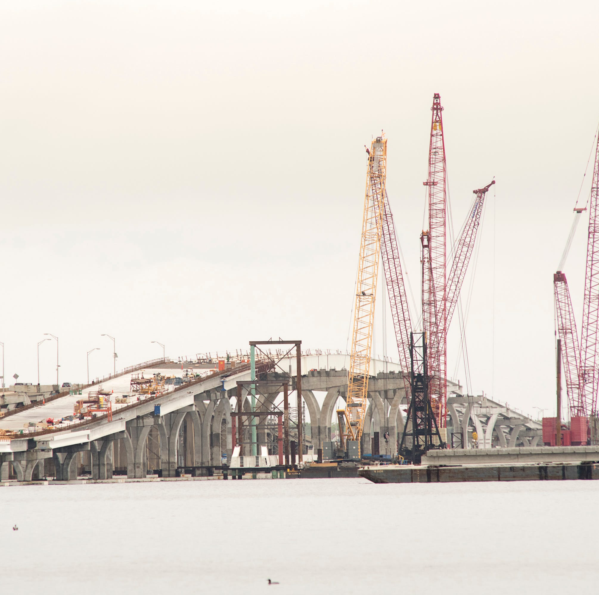 Pensacola Bay Bridge project approaching milestones in effort to finish first span