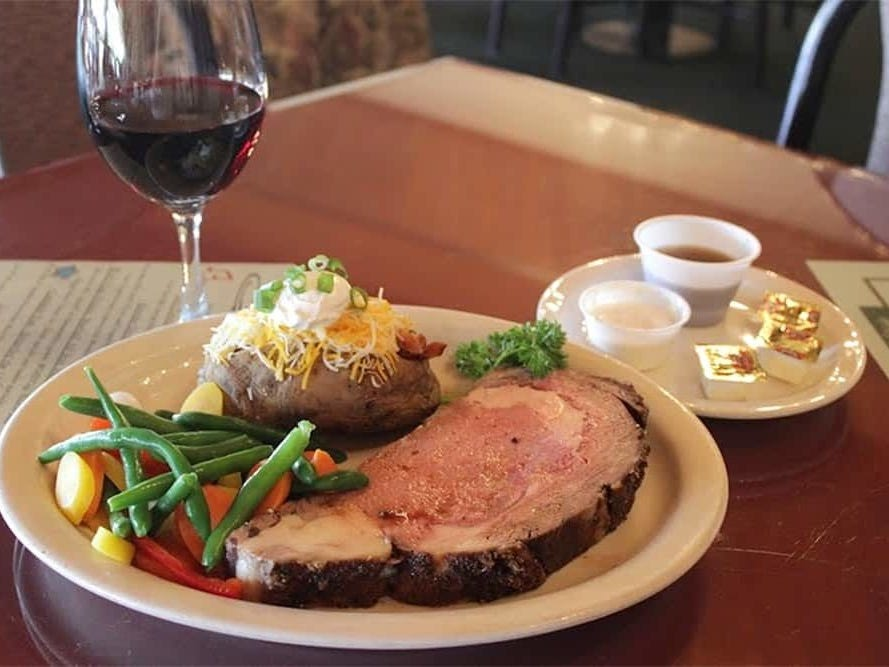 IRONWORKS RESTAURANT | From noon-4 p.m., a special menu ($24.99) will feature entrée choices of honey-glazed ham, prime rib, champagne chicken or seafood stuffed pork chop. The meal comes with all-you-can-eat salad and a dessert buffet.DETAILS:  17233 N. 45th Ave., Glendale. 602-843-0909, ironworksrestaurant.com.