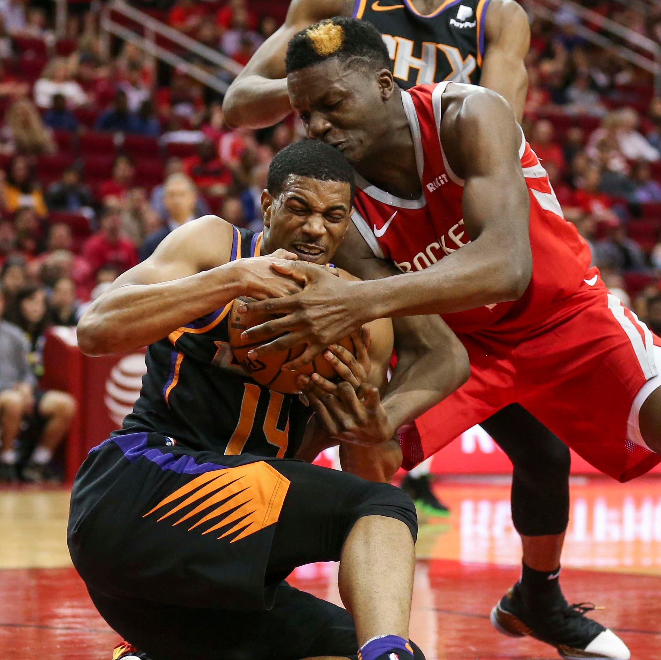 Focus remains on young players as Suns are routed by Rockets in record shooting performance
