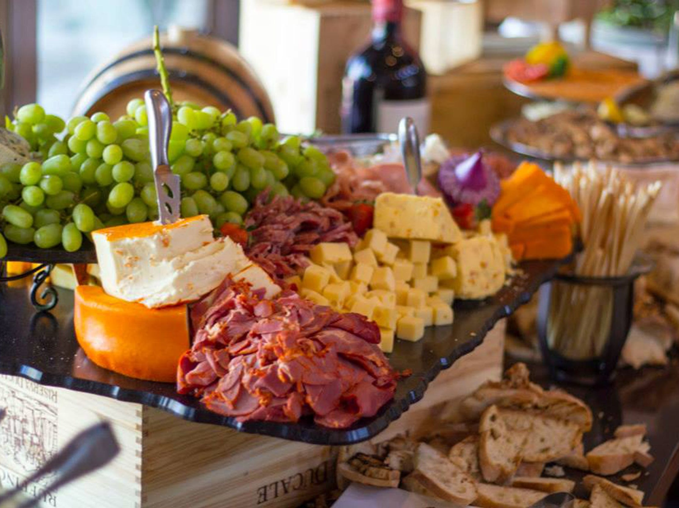 BISTRO 1528, ENCANTERRA, A TRILOGY RESORT COMMUNITY | A brunch buffet ($60 for members, $80 for non-members, $15 for ages 12 and younger) will be served 10 a.m.-3 p.m. and feature fruit, pastries, seafood, sides, prime rib, an omelet station, achiote rubbed pork loin and more. There will be a kids buffet. DETAILS: 36460 N. Encanterra Drive, San Tan Valley. 480-677-8060, bistro1528.com.