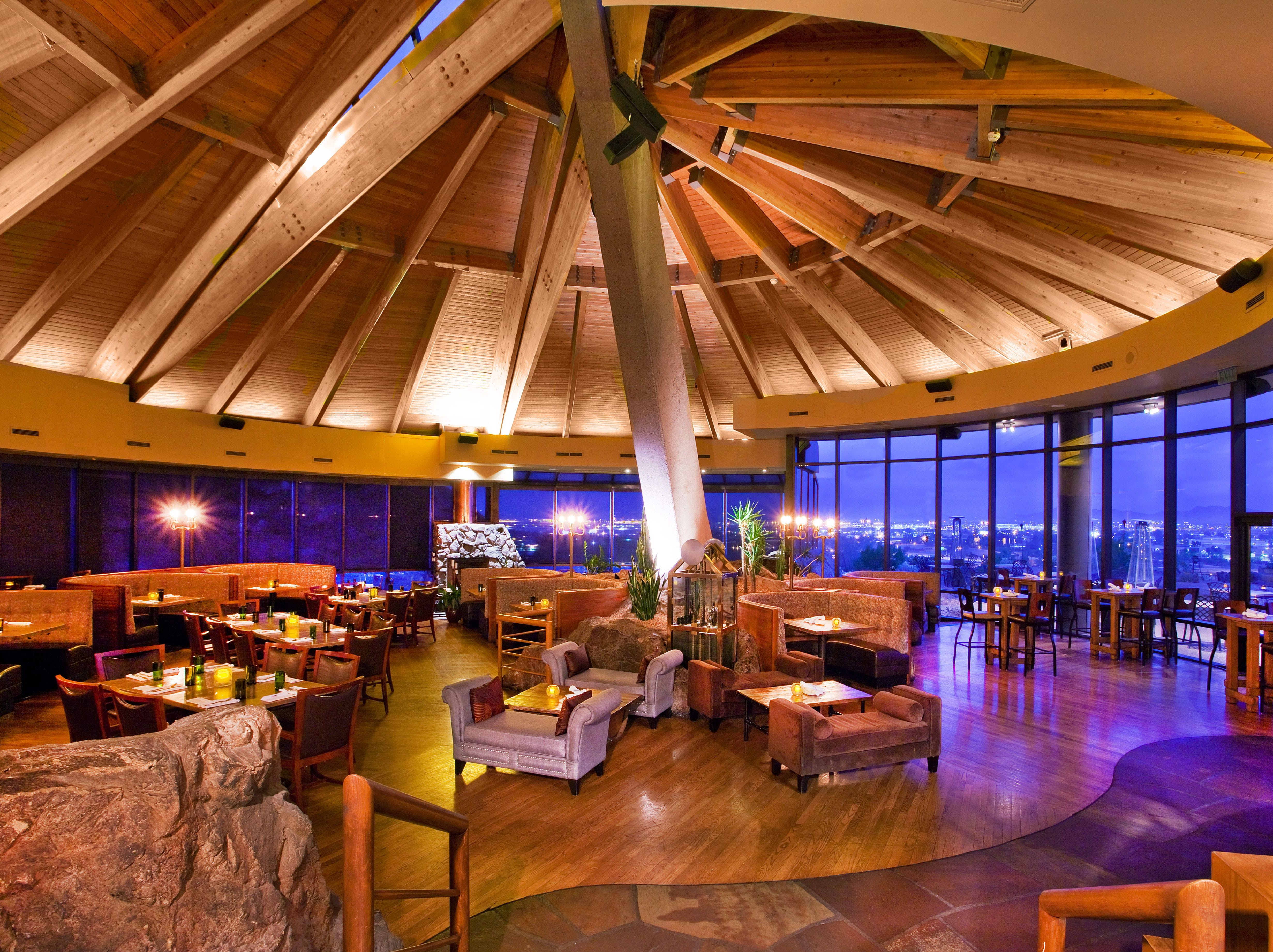 PHOENIX MARRIOTT RESORT TEMPE AT THE BUTTES | At the signature Top of the Rock restaurant from 10 a.m.-4 p.m., a brunch buffet ($69.95, $34.95 for ages 6-13) will feature classics including prime rib, glazed ham, king crab legs, made-to-order omelets, an assortment of salads and sides, breakfast favorites, and desserts.DETAILS: 2000 W. Westcourt Way, Tempe. 602-431-2370. marriott.com/PHXTM.