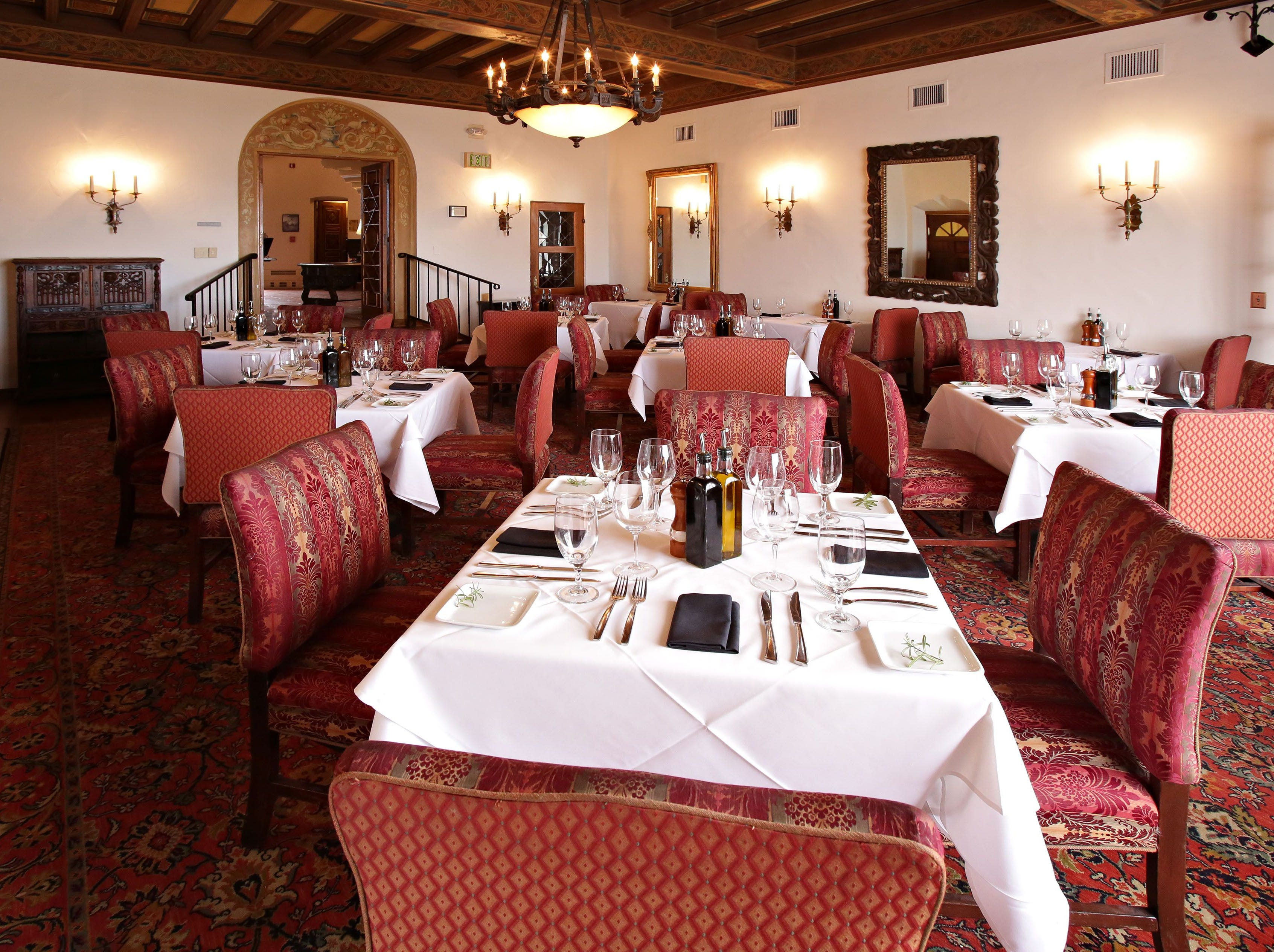 WRIGLEY MANSION | Choose between seatings at 10 a.m. and 1 p.m. for a brunch ($85 that includes mimosas, $42 for ages 12 and younger) that features prime rib, leg of lamb, glazed Steamship Ham, leek and Gruyere quiche, whole roast salmon, seasonal vegetable hash, special kids items and an Easter-themed dessert display.DETAILS: 2501 E. Telawa Trail, Phoenix. 602-955-4079, wrigleymansion.com