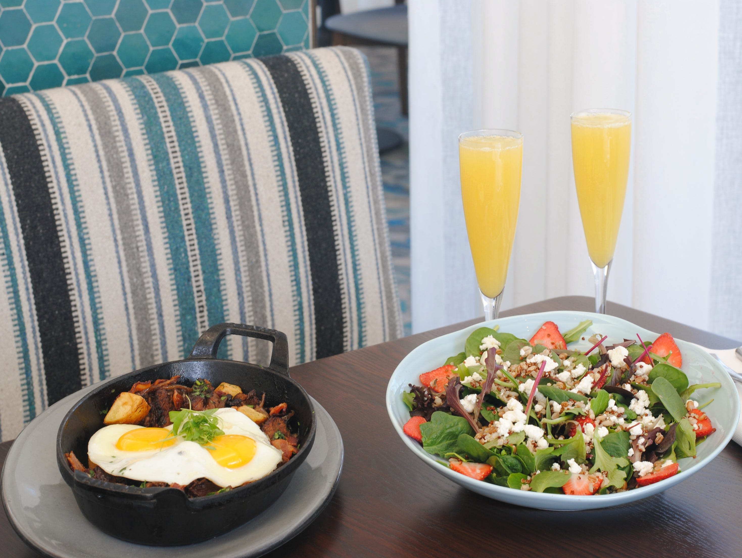 HEARTH '61, MOUNTAIN SHADOWS | A three-course brunch ($79, $19 for ages 12 and younger) will be served 9 a.m.- 2 p.m. and kicksoff with an antipasti buffet featuring seafood, salads, a prime rib carving board and omelet station. Entrée options include wood-oven roasted New York striploin, crab cake Benedict, Two Wash Ranch organic chicken, pan-seared Ora king salmon and slow-braised beef short rib hash. A dessert table finishes the meal. Reservations required. DETAILS: 5445 E. Lincoln Drive, Paradise Valley. 480-624-5400, mountainshadows.com.