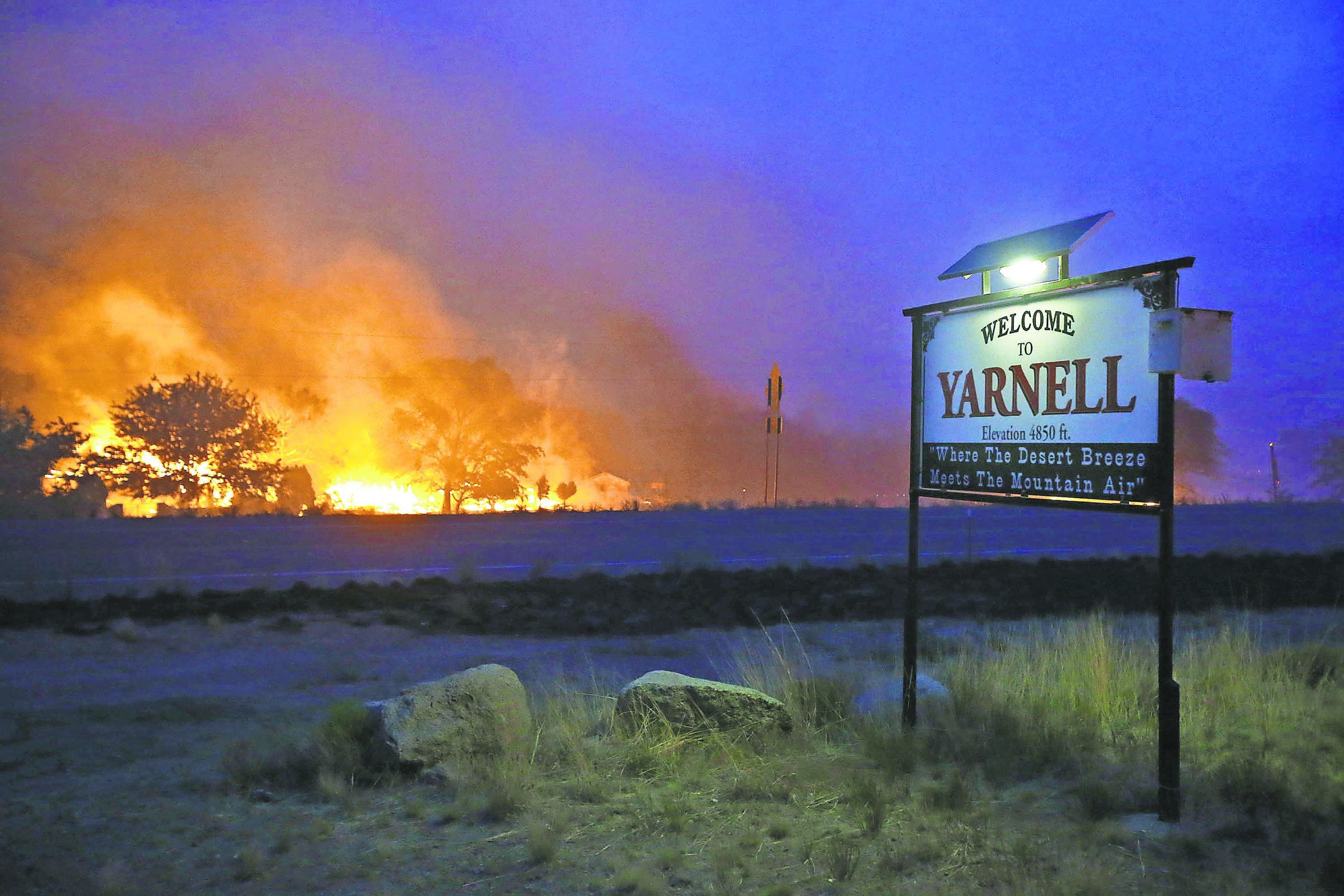 The Yarnell Hill Fire was the deadliest wildfire in Arizona. Nineteen firefighters in the Granite Mountain Hotshots were killed.