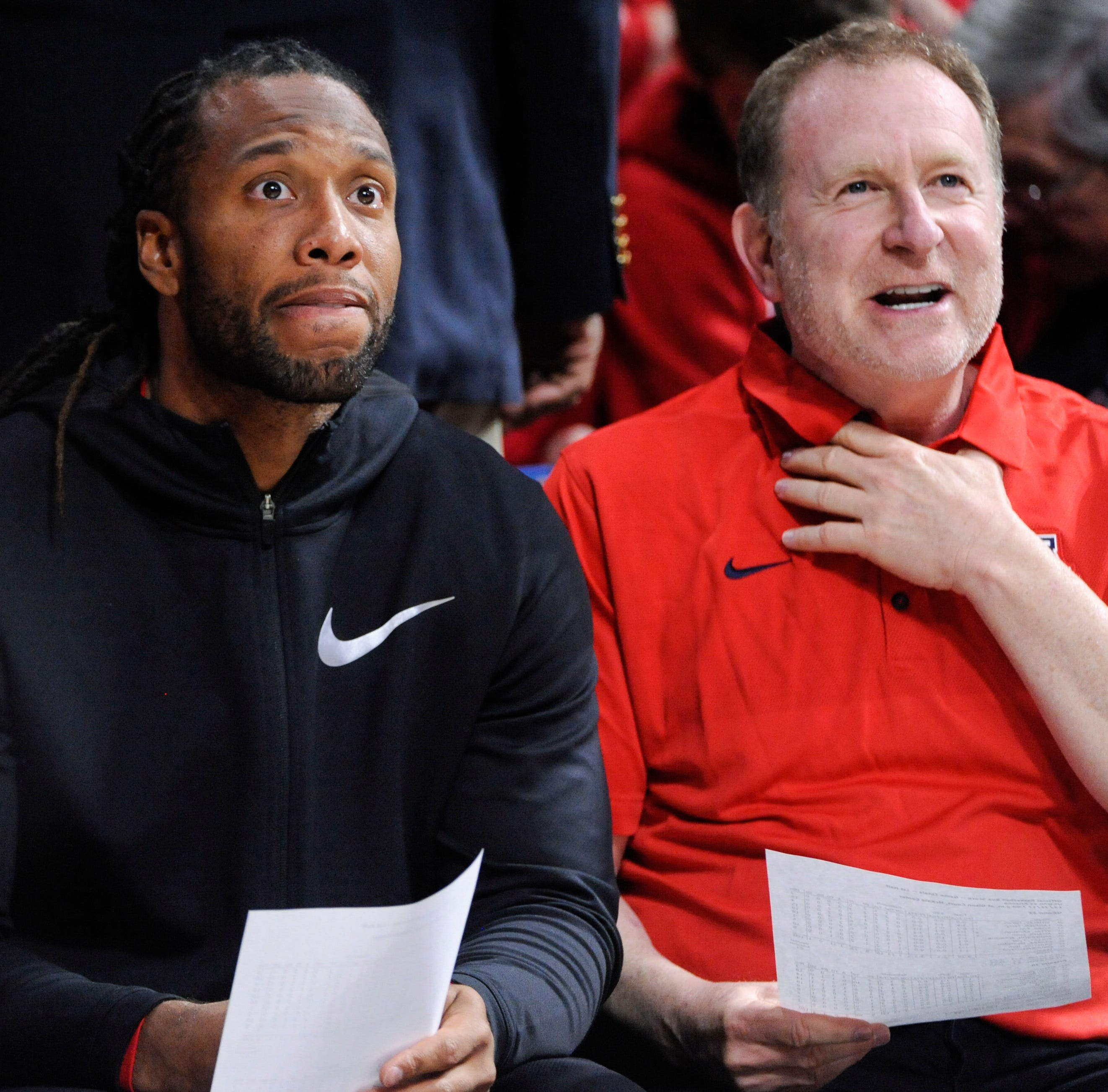 Larry Fitzgerald sat in on Phoenix Suns' front-office interviews, according to report