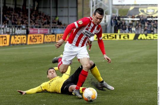 Hirving 'Chucky' Lozano se ha convertido en uno de los referentes del PSV en Holanda.