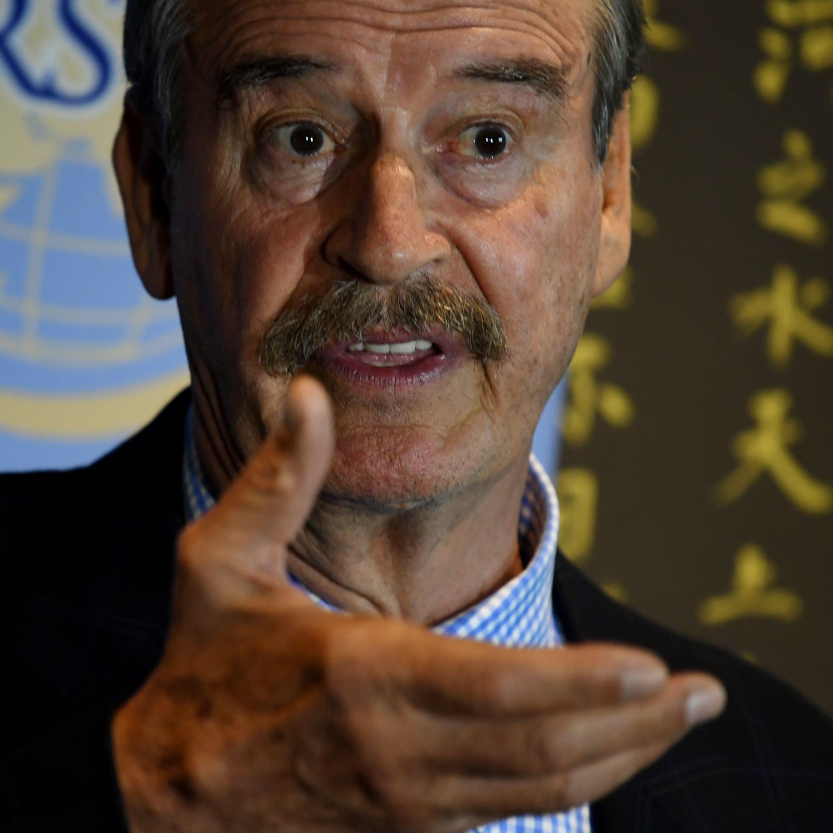 Vicente Fox afirma que grupo armado allanó su casa