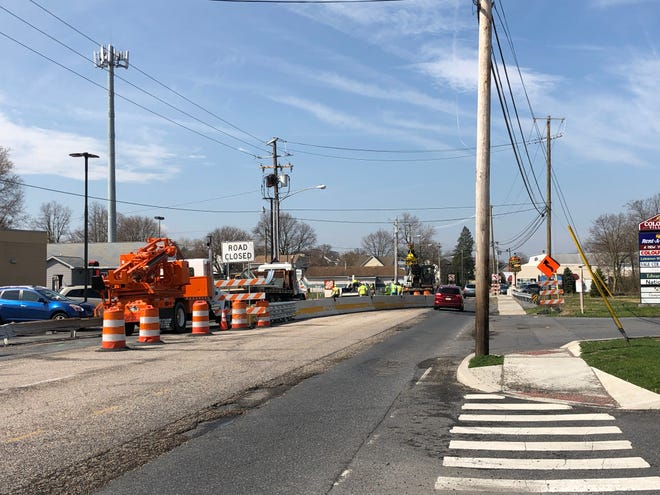 Construction is underway on the Cumberland Street bridge, but nearing completion in the next couple weeks, according to PennDOT.