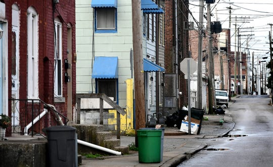 The 500 block of West Clarke Avenue Monday, April 8, 2019. York City Police said in a news release thata boy, 13, was shot in the area at 9:10 p.m. Sunday, April 7. Bill Kalina photo