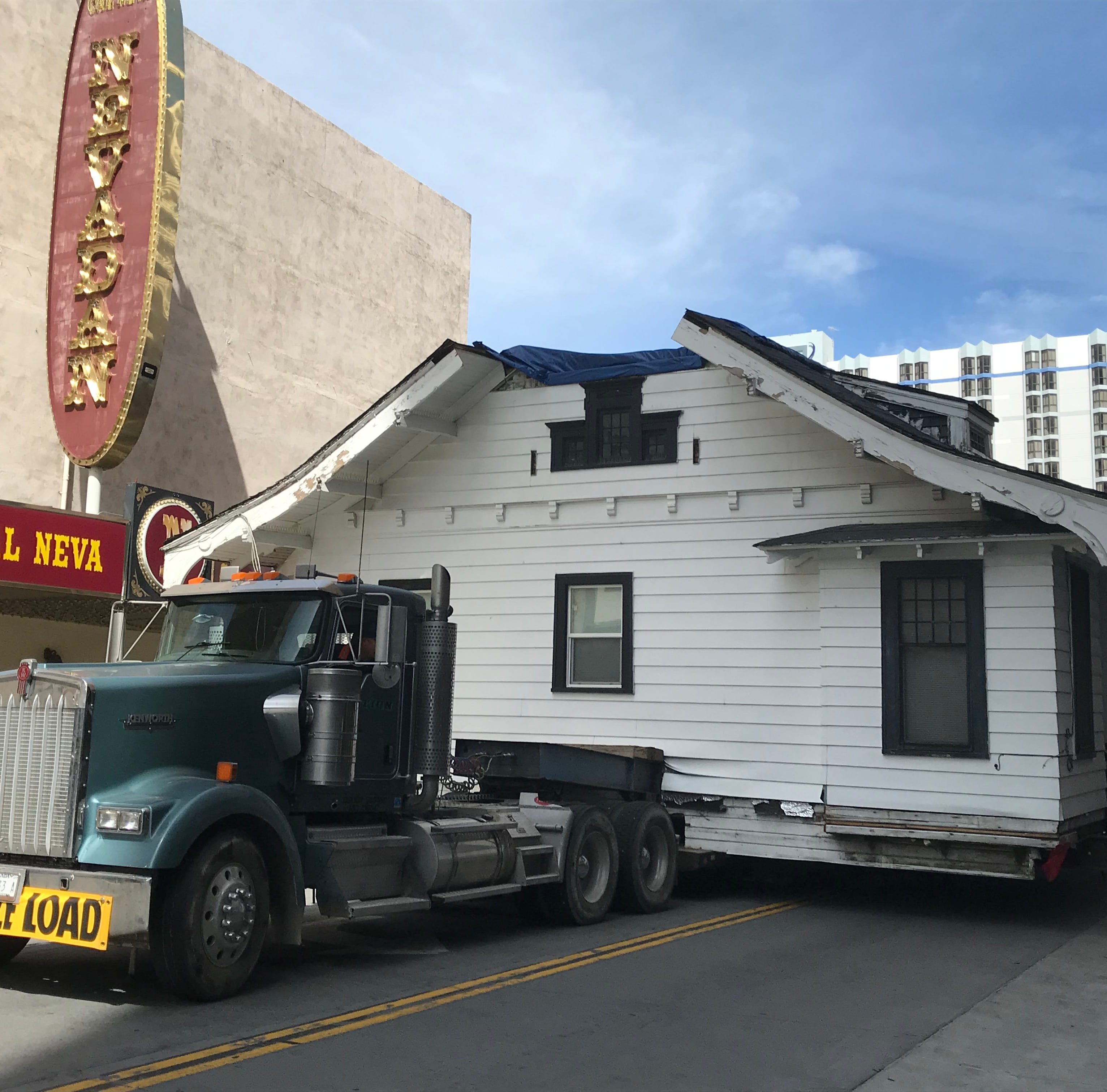 After drama in downtown Reno, historic UNR house finally relocated