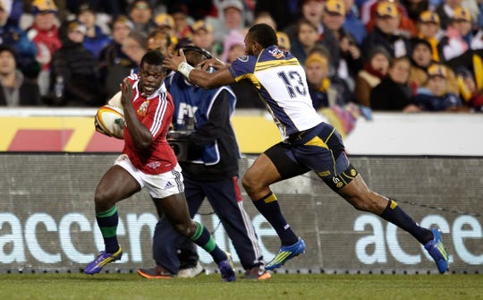 Former British and Irish Lions rugby player Christian Wade is joining the Bills.