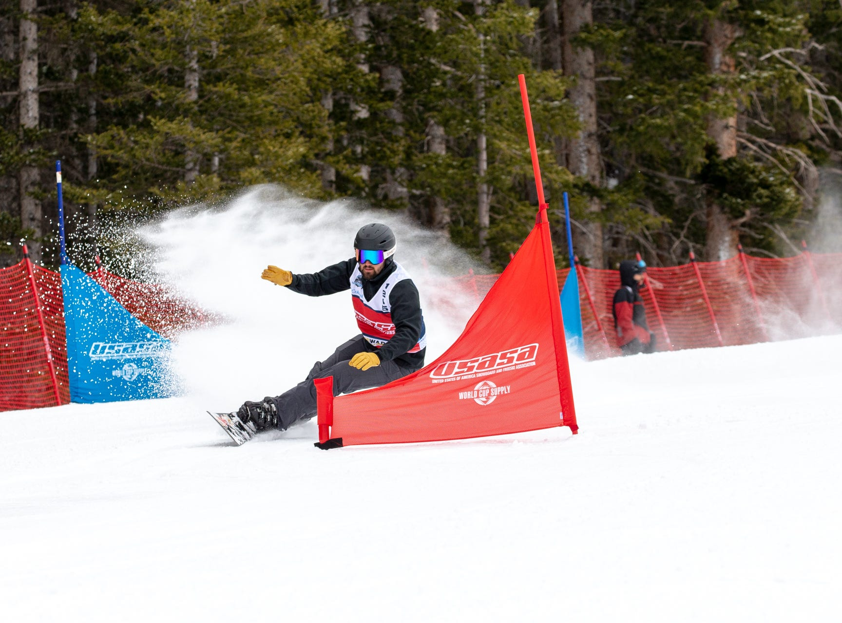 Foothill grad Justin Youngman / North State snowboarders compete at the 2019 USASA National Championships at Copper Mountain in Colorado.