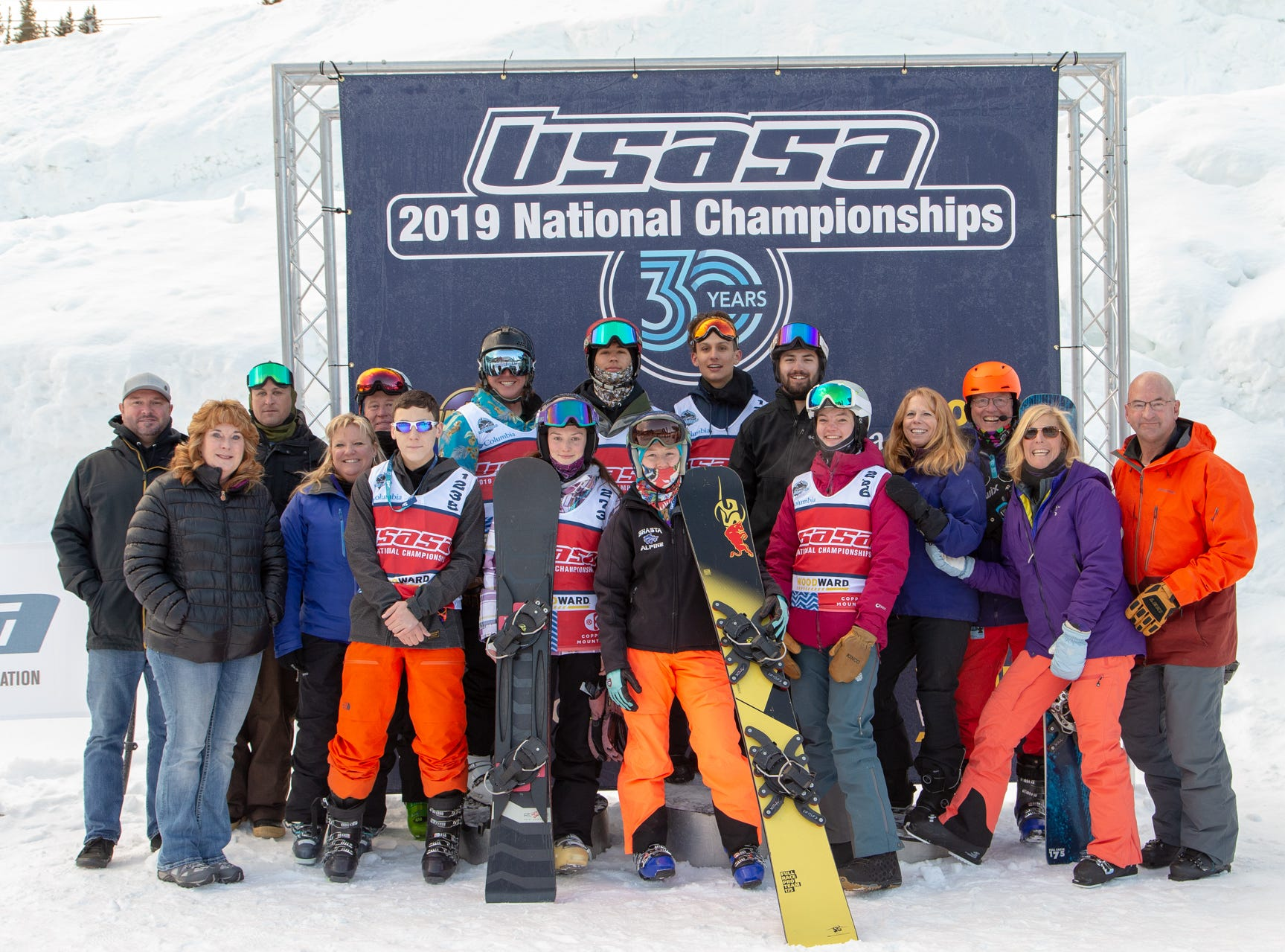 North State snowboarders compete at the 2019 USASA National Championships at Copper Mountain in Colorado.