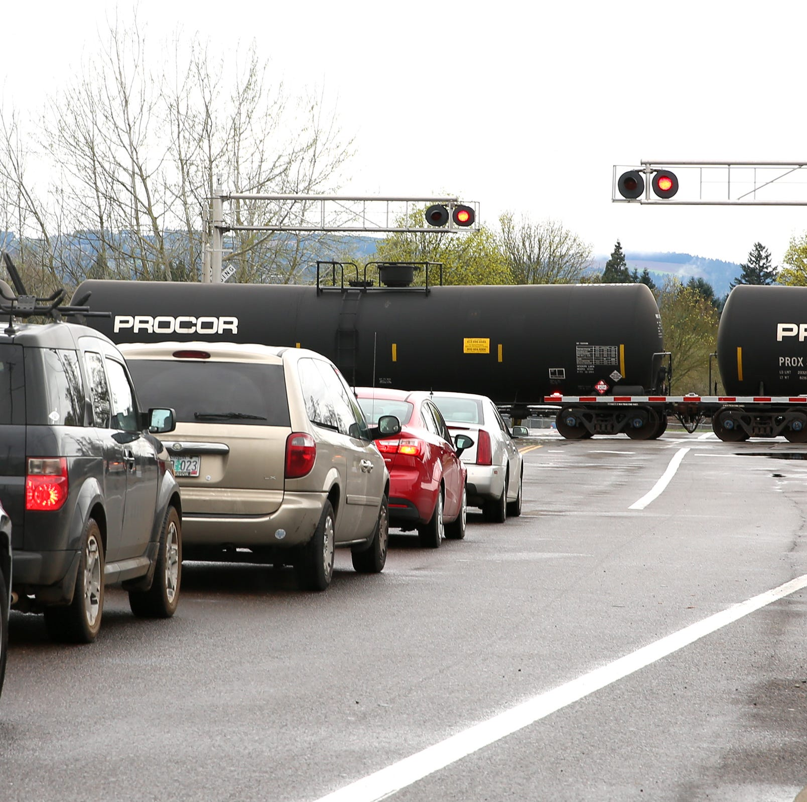Train strikes woman near Portland Road in Salem, Hyacinth Street NE blocked