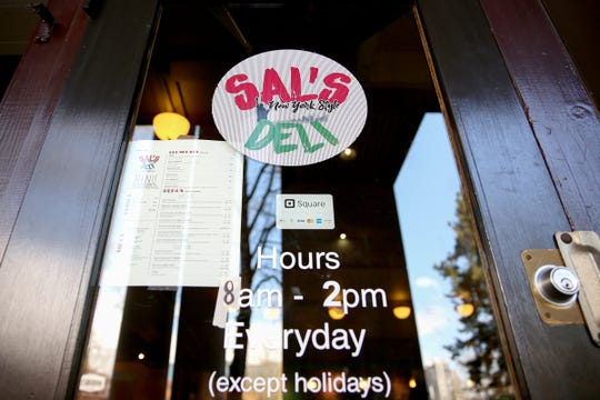 Two Pringle Park Plaza restaurants, including Sal's Deli, are closed this morning due to a plumbing issue.